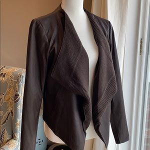 Neiman Marcus exclusive leather jacket. med